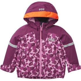 Helly Hansen Legend Insulated Jacket Kids, bubblegum pink aop